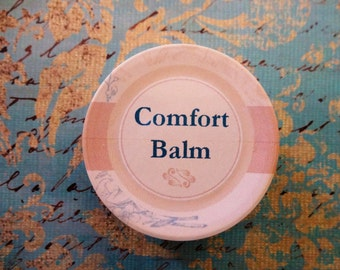 Comfort Balm 1 oz.  Herbal Healing Balm, Healing Salve, Organic Salve,  Healing Balm, Herbal Ointment, Wound Care, Skin Care  SALE