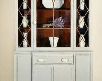 SOLD Antique china cabinet SOLD
