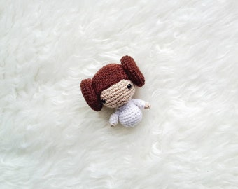 Amigurumi PATTERN -Princess Leia  Star Wars -Crochet Star Wars Pattern