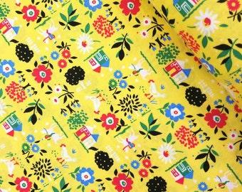 Everything But The Kitchen Sink XII 2016 - Farm Fresh(Yellow) - Yuko Hasegawa - RJR Fabrics