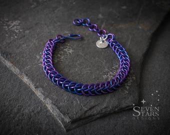 Half-Persian 3 in 1 Anodised Niobium Bracelets