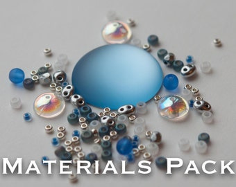 Materials Pack for Kissing Piggies Cabochon Bezel
