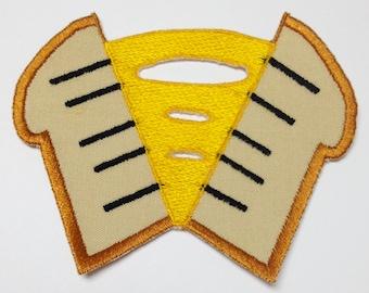 "Cheese Sandwich Cutie Mark Patch - MLP:FiM * ""Weird"" Al Yankovic"