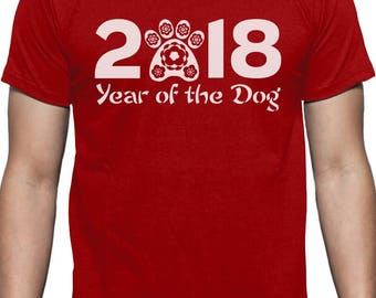 Chinese New Year of the Dog 2018 Festival T-Shirt