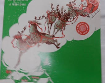 Santa Claus is Coming to Town Sheet Music by Fred Coots and Haven Gillespie 1959