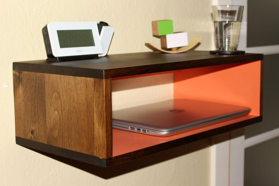 console flottante tag re table table de nuit station. Black Bedroom Furniture Sets. Home Design Ideas