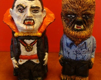 Vampire And WereWolf S/P shakers(standard Size)*Made TO Order*
