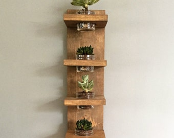 Wall planter etsy for Indoor plant gift ideas