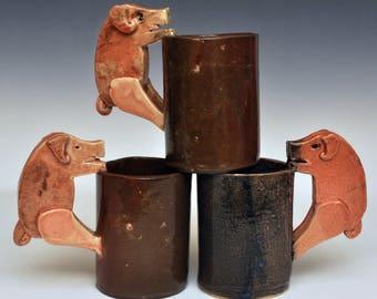 Handmade Pig Mug