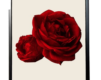 Red Roses For iPad 2/3/4, iPad Mini 1/2 and iPad Air