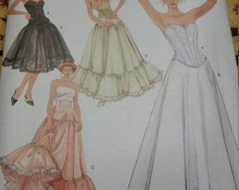 Lingerie sewing pattern Petticoat pattern dressmaking pattern