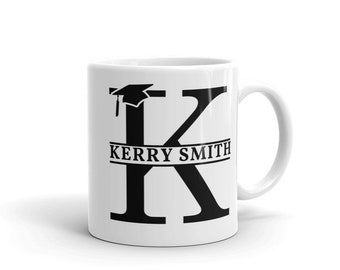 Graduate Monogram Mug -  available in standard or colour changing