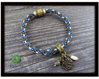 Kumihimo Bracelet Charm Bracelet Braided Bracelet Magnetic Bracelet