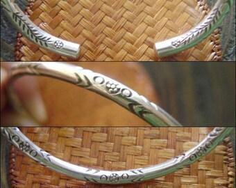 Thai Karen Silver Bracelet - Thai Silver Bracelet (21)