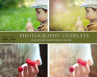 Photography Overlays, Haze Textures and Flare Overlays,Photography Textures