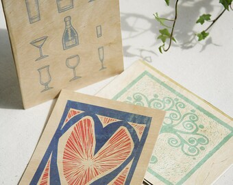 Ema Cards - Wooden