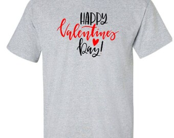 Happy Valentine's Day Adult Unisex Tshirt
