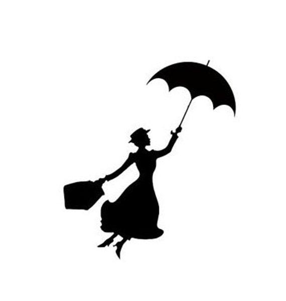 Mary Poppins Disney Magic Band Decal Disney Decal Disney