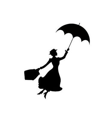 mary poppins coloring pages already colored | Mary Poppins Disney Magic Band Decal Disney Decal Disney