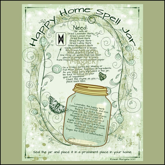 Happy Home Spell Jar