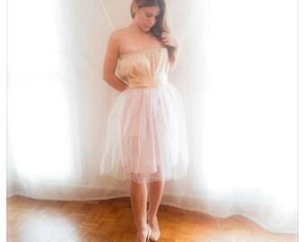 """A custom-made skirt tulle """"Golden Rose"""""""
