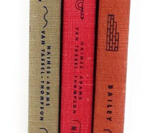 Set of 3 Vintage Home Mechanics Library Books, Van Nostrand 1945 & 1948