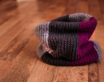 Crochet Pattern - Can't Knit Can Crochet Cowl (Toddler to Men Size)