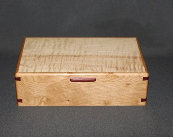 Curly maple box Etsy