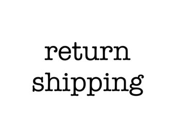 U.S. Return Shipping