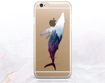 iPhone 8 Case iPhone X Case iPhone 7 Case Whale Clear GRIP Rubber Case iPhone 7 Plus Clear Case iPhone SE Case Samsung S8 Plus Case U136