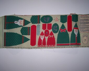 Father Christmas Cut Outs Panel