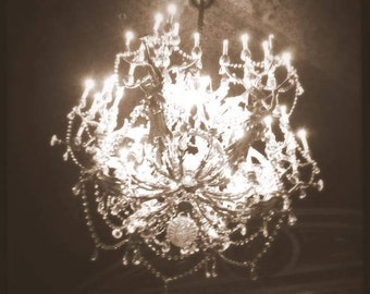 Maroon music sunday morning maroon 5 concert gold yellow lifes little gems glamor photo print of crystal chandelier sepia vintage spooky creepy mozeypictures Choice Image