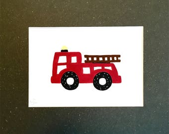 Simple and Sweet Fire Engine