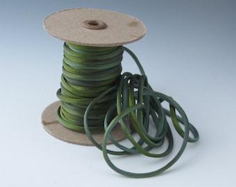 Hand dyed silk satin 1/8 inch cord