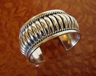 Tommie Charlie Bracelet Navajo Silver REDUCED