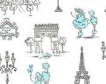 C'Est La Vie Poodles & Paris White
