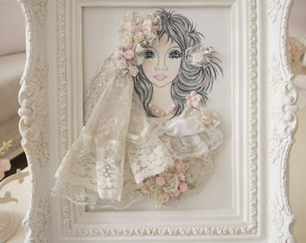 painting romantic shabby chic