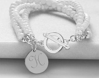 White elegance bracelet