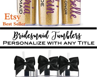 Personalized Tumbler, Bridesmaid Gift, Wifey, Personalized Water Bottle, Team Gift, Monogram Tumbler, Personalized Tumbler, Personalized Cup
