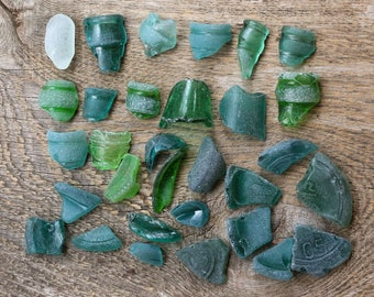 31 pcs genuine sea glass beach seaglass bottle neck engagement party decorations engagement gifts for her gift for bride wedding day gifts