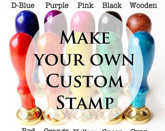 Personalized Wax Seal Stamp/Custom Wax Seal Stamp/ Wedding wax stamp