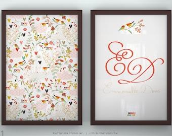 """Prints Kids Rooms - Spring Kimono - Unframed - 13 x 19"""""""