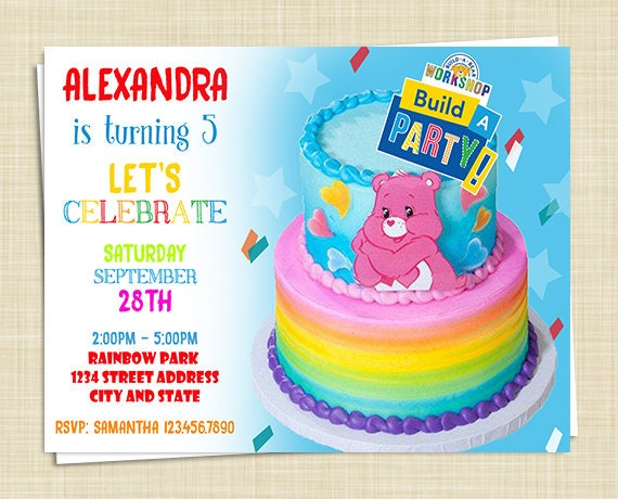 Build a Bear Birthday Invitations Build a Bear Invitations