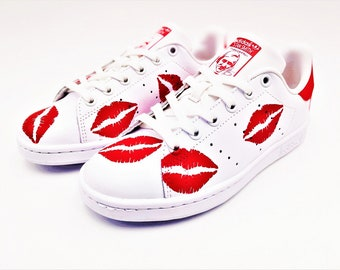 Adidas Stan Smith Kiss Hand made Customs