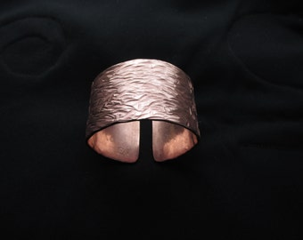 Textured Copper Cuff