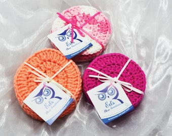 Facial Scrubbies, Cleaning Pads, Reusable Cloth