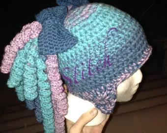 Crochet Pigtail Hat