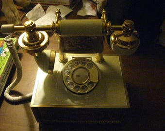 Vintage Western Electric Ornate Princess Rotary Phone