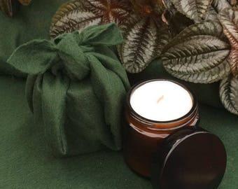Organic essential oils candles