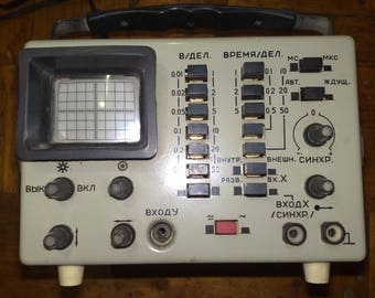 Oscilloscope OML-3M (ОМЛ-3М) without feelers of the USSR Vintage